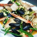 Stock Kitchen and Bar Belfast Seafood Dish