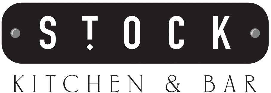 Stock Kitchen and Bar Belfast Black and White Logo